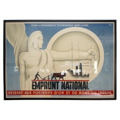 French Art Deco Poster