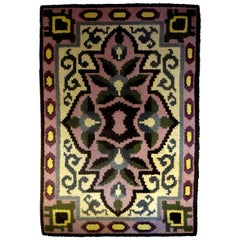 French Art Deco Rug in the Style of Jules Leleu