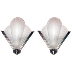 French Art Deco Sconces by Petitot