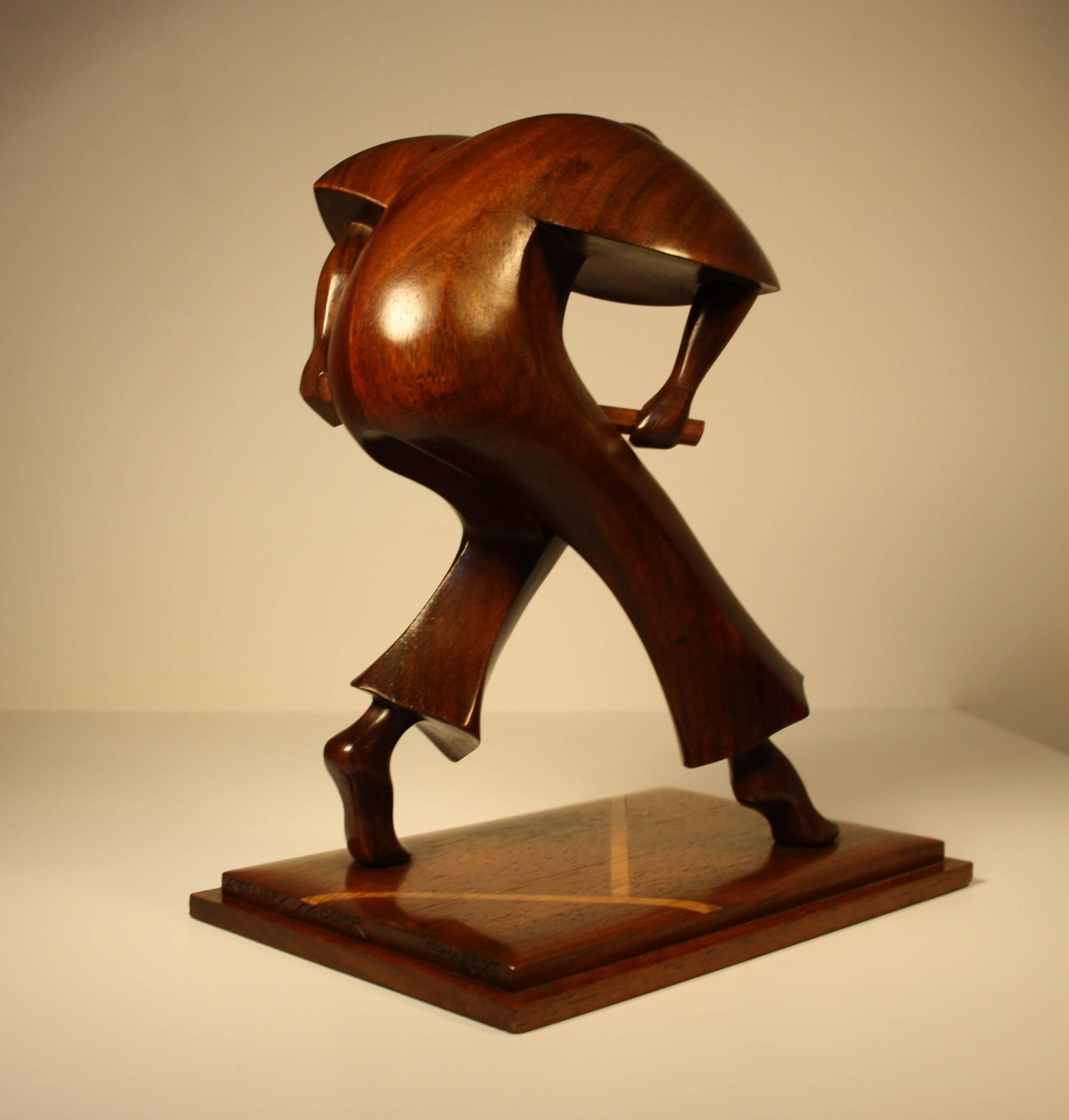 French Art Deco Sculpture of a Tennis Player, 1925 by Gaston and ...