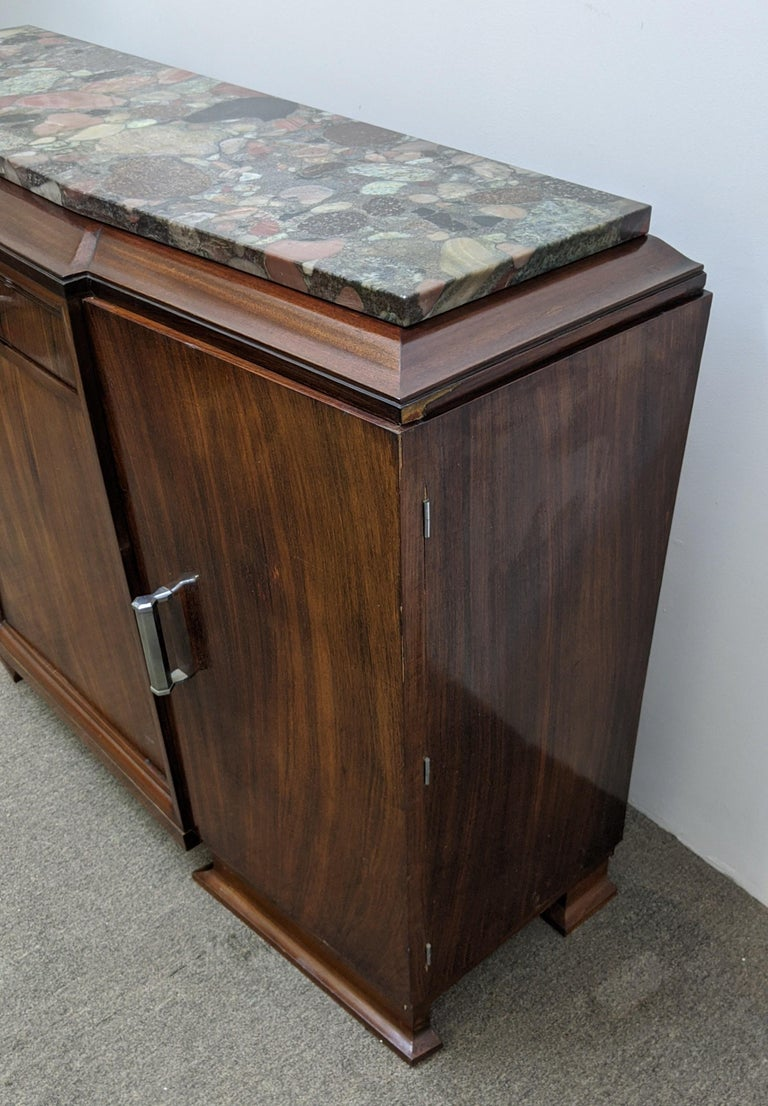 French Art Deco Sideboard, Buffet, Credenza For Sale 4