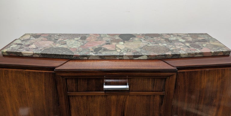 20th Century French Art Deco Sideboard, Buffet, Credenza For Sale