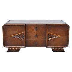 French Art Deco Sideboard from the 1930s