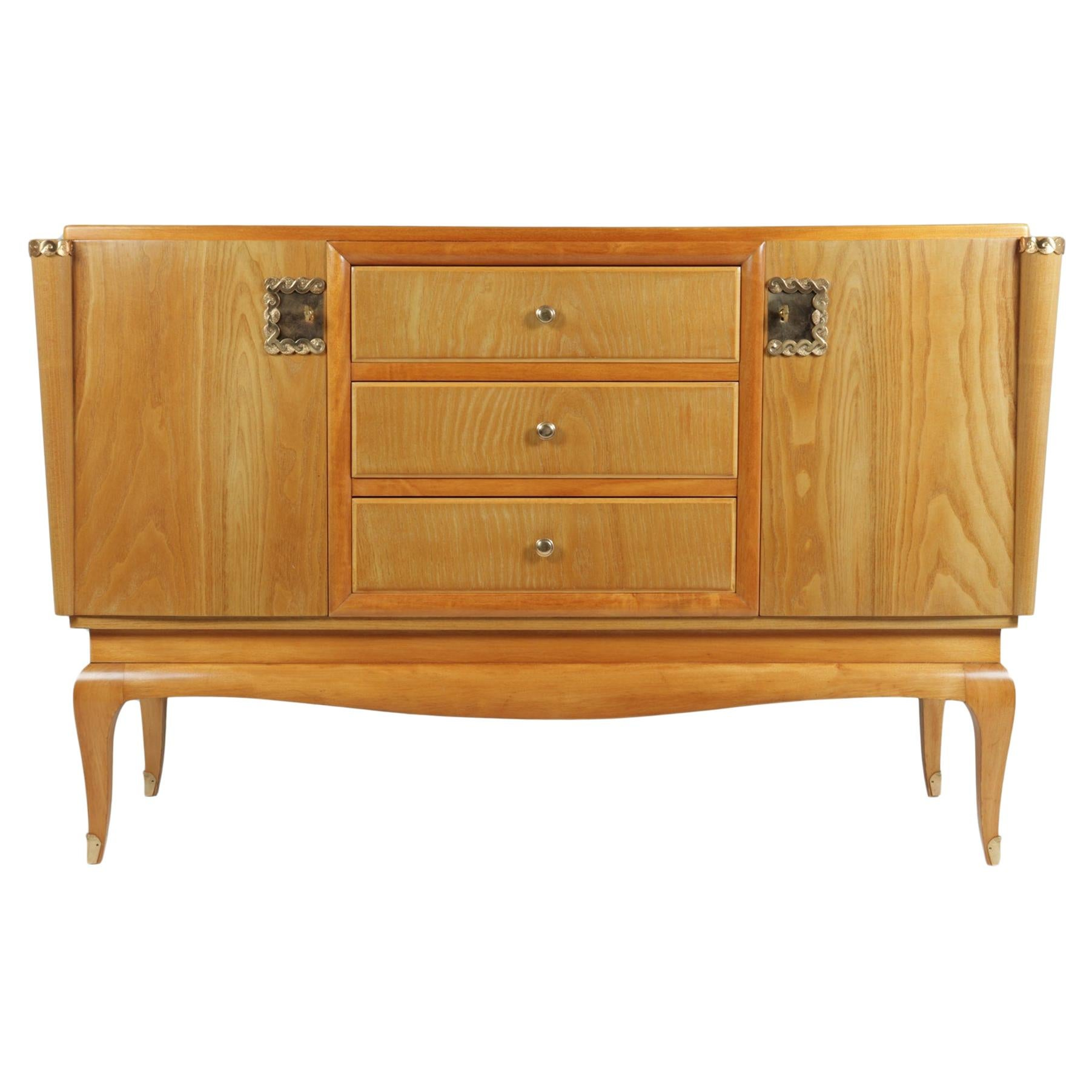French Art Deco Sideboard in Cherry