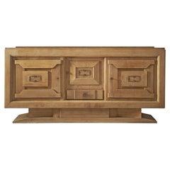French Art Deco Sideboard in Oak