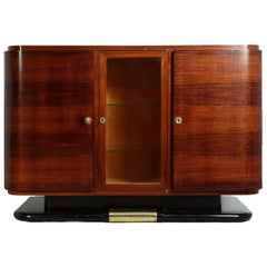 french art deco sideboard in rosewood circa 1930