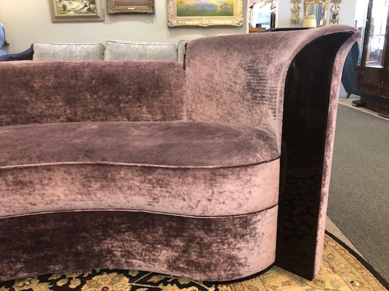 French Art Deco Sofa In Excellent Condition For Sale In Houston, TX
