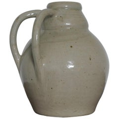 French Art Deco Stoneware Vase or Jar by Betzy Augeron