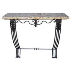 French Art Deco Style Console Table