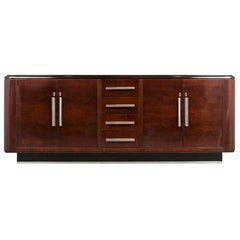 French Art Deco Style Lacquered Buffet