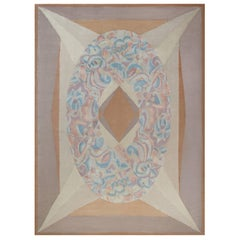 French Art Deco Style Rug