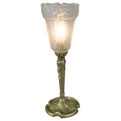 French Art Deco Table Lamp by Robert