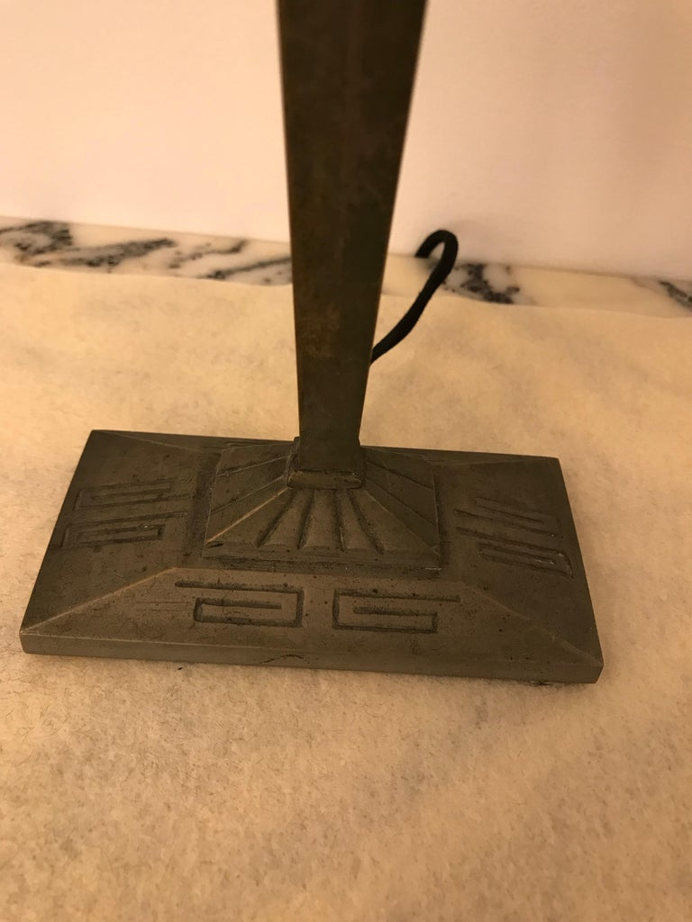 French Art Deco Table Lamp For Sale 6