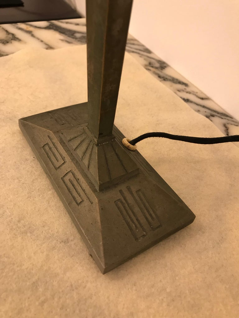 French Art Deco Table Lamp For Sale 7