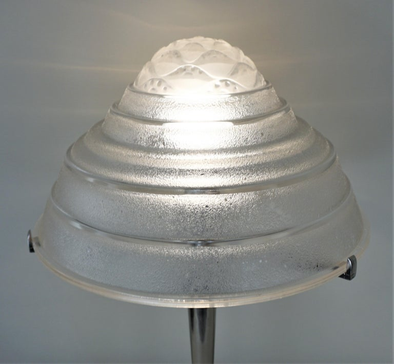 Mid-20th Century French Art Deco Table Lamp For Sale