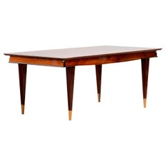 French Art Deco Table, Macassar, 1940s