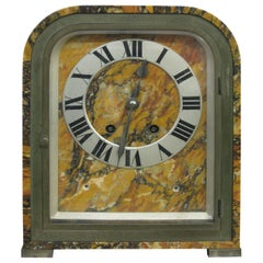 French Art Deco Tiffany & Co. Marble Clock