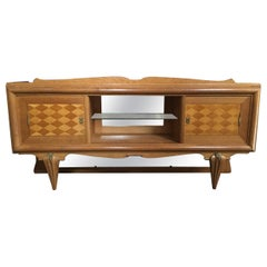 French Art Deco TV Stand