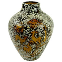 French Art Deco Vase possibly Jean Besnard, Primavera