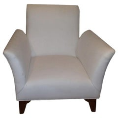 French Art Deco Walnut Club Chair Inspired by Dominique