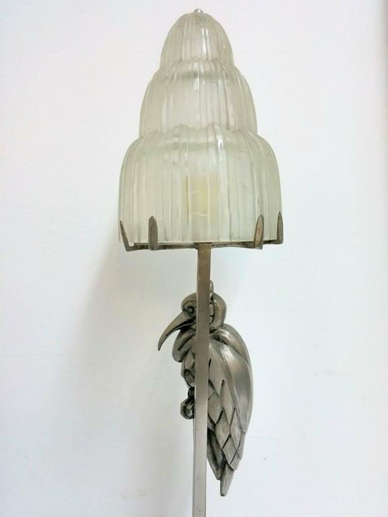 This table lamp was created by the French artist