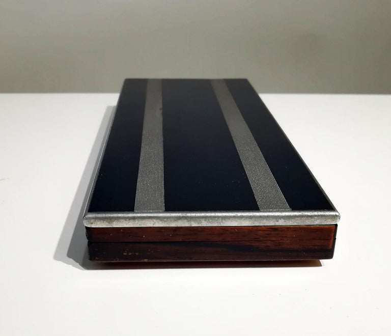 French Art Deco Wood Box, 1930s For Sale 2