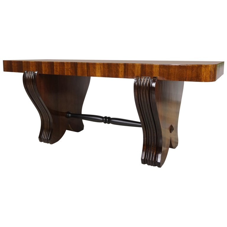 Surprising French Art Deco Wooden Coffee Table Pdpeps Interior Chair Design Pdpepsorg