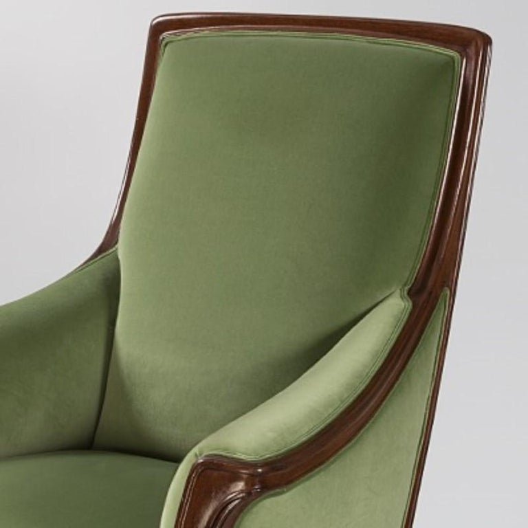 French Art Nouveau Armchair by Louis Majorelle In Excellent Condition For Sale In New York, NY