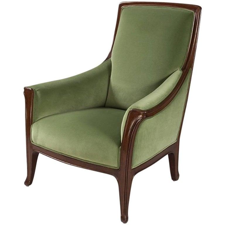 French Art Nouveau Armchair by Louis Majorelle For Sale
