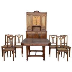 Art Nouveau Dining Room Tables