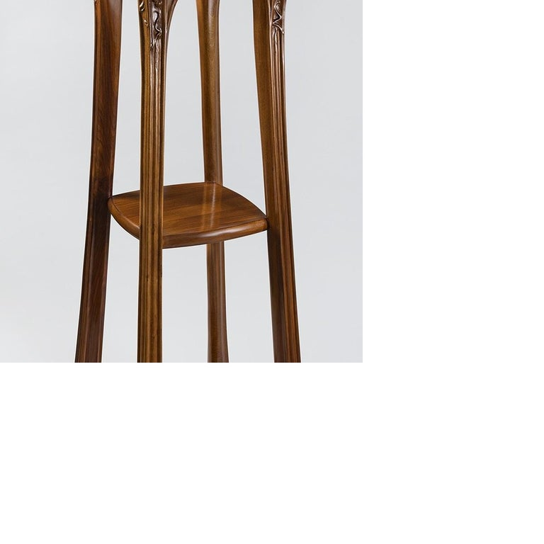 French Art Nouveau Pedestal by Louis Majorelle In Excellent Condition For Sale In New York, NY
