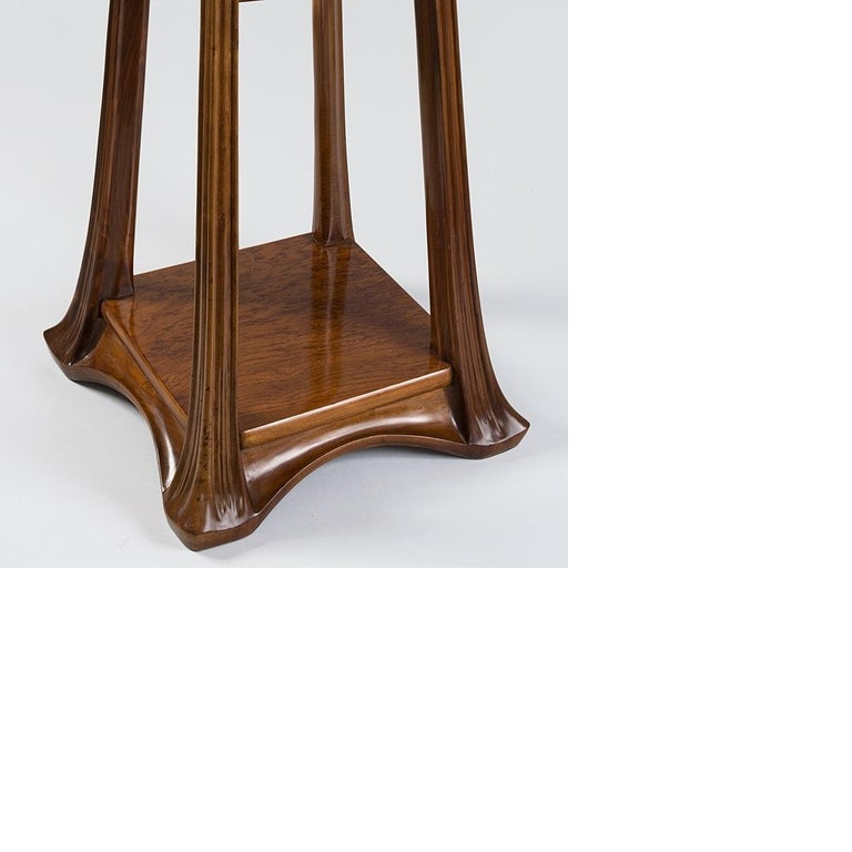 French Art Nouveau Pedestal by Louis Majorelle For Sale 1
