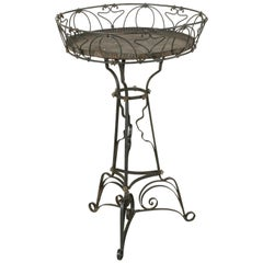 French Art Nouveau Period Iron Planter or Jardiniere, circa 1900