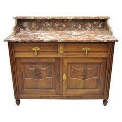 Marble Case Pieces and Storage Cabinets