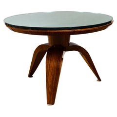 French Arte Moderne Low Circular Table