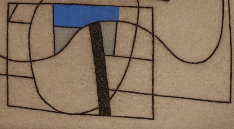 French Artist Jorj Morin, 20th Century In Excellent Condition For Sale In New York, NY