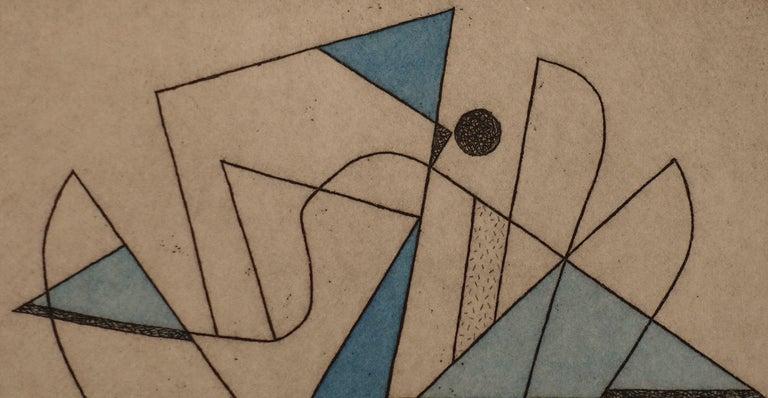 French Artist Jorj Morin, 20th Century For Sale 1
