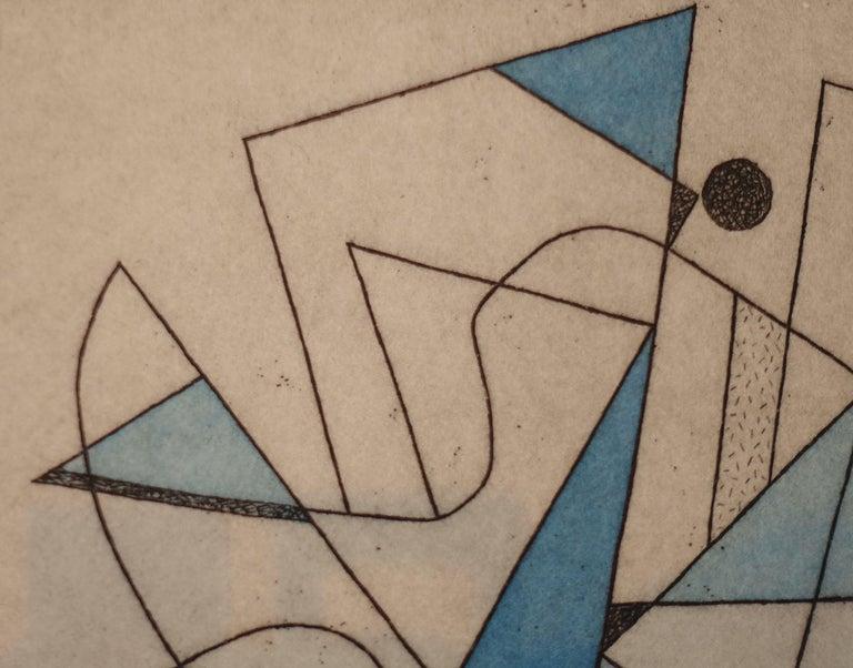 French Artist Jorj Morin, 20th Century For Sale 3