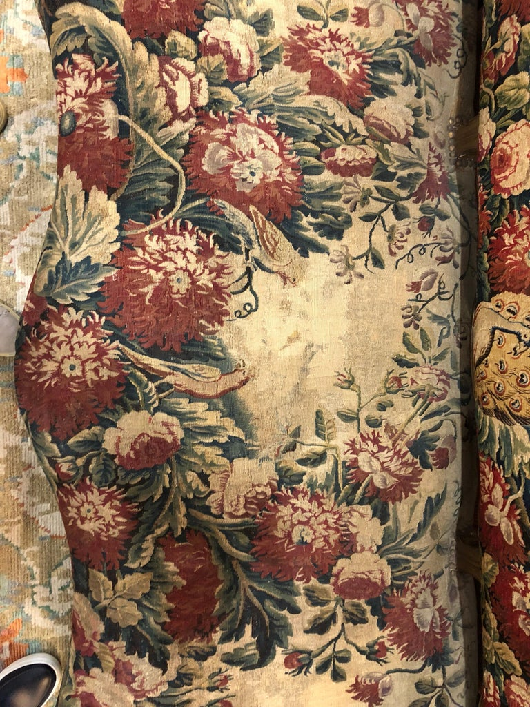 18th Century and Earlier French Aubusson Canape, 18th Century For Sale