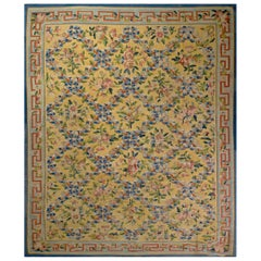 French Aubusson Carpet Style Louis XVI