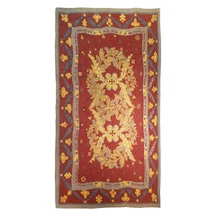 French Aubusson Rug, 20th Century