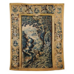French Aubusson Tapestry, 18th Century