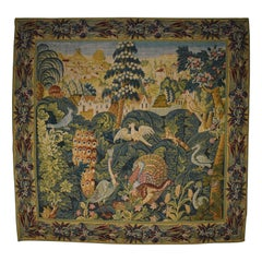French Aubusson Tapestry by Robert Four