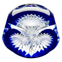 French Baccarat Art Glass Paperweight