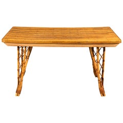 French Bamboo Dinging Table