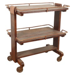 French Bar Cart by Jacques Adnet