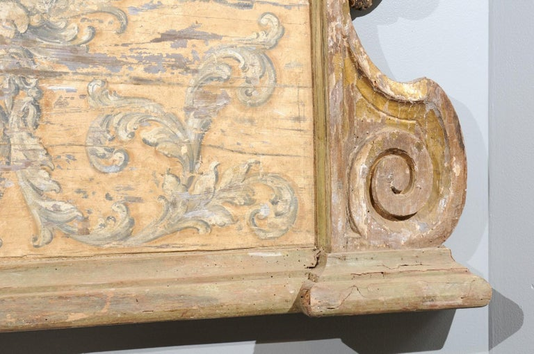French Baroque Style Architectural Fragment with Volutes, Late 19th Century 6