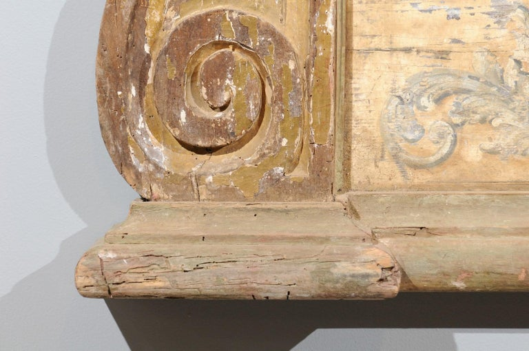 French Baroque Style Architectural Fragment with Volutes, Late 19th Century 3