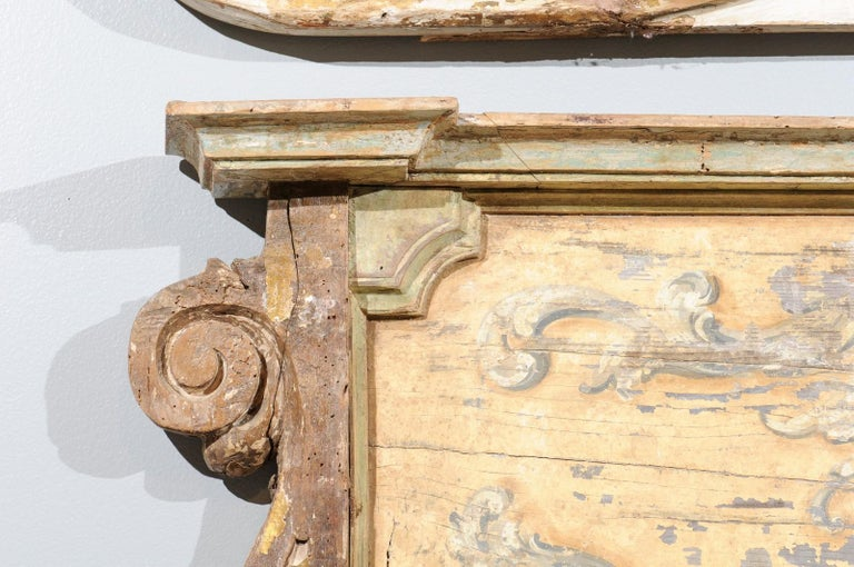French Baroque Style Architectural Fragment with Volutes, Late 19th Century 4