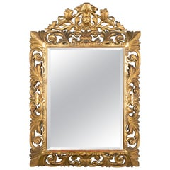 French Baroque Style Gilded Mirror